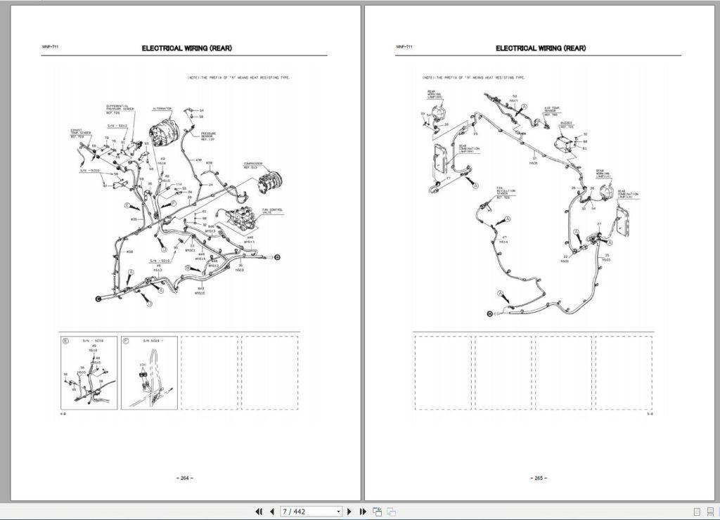 Kawasaki Wheel Loader Service & Part Manual and Circuit