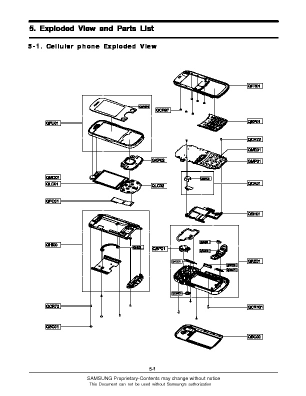 Samsung Exploded View pdf Diagramas de Celulares