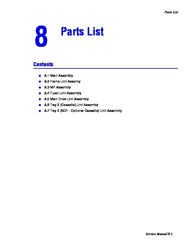 Xerox Xerox Phaser 3150 Phaser 3150 pdf Diagramas de