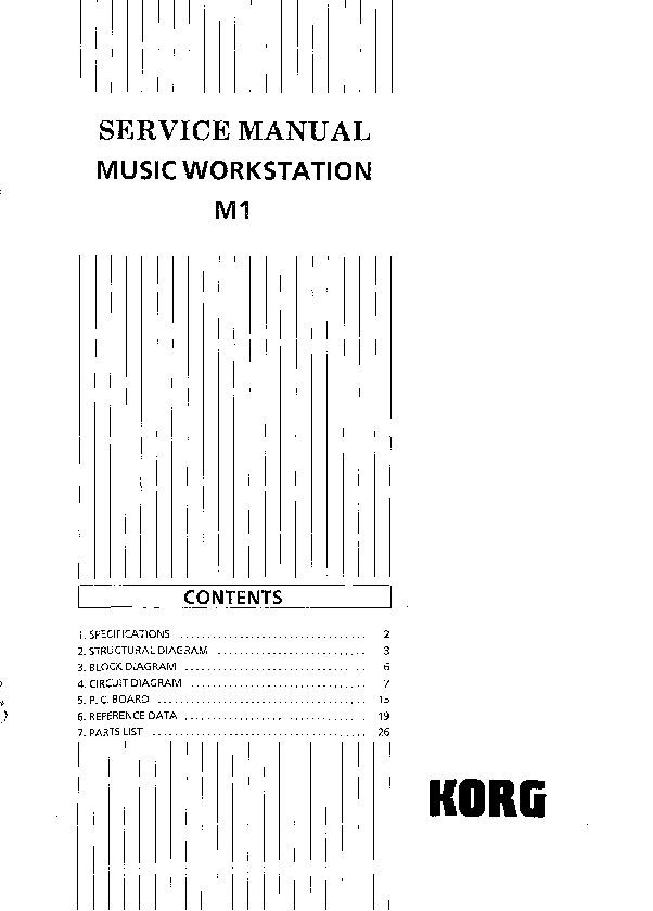Korg m1 manual pdf