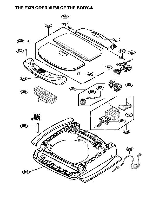LG lg t1022tp5 pdf Diagramas de lavarropas secadoras