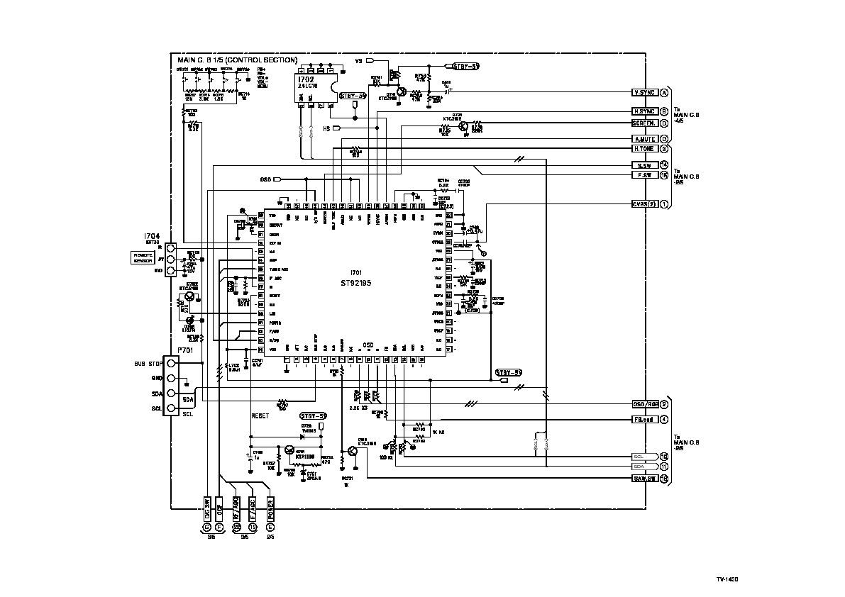 Vizio Service Manual Schematic Vizio P42HDTV10A Service