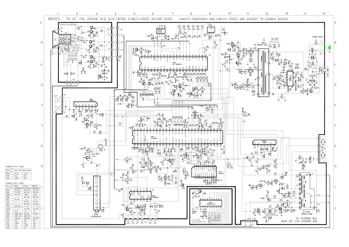 AKAI AKAI CT T21N34A pdf Diagramas de Televisores Lcd y