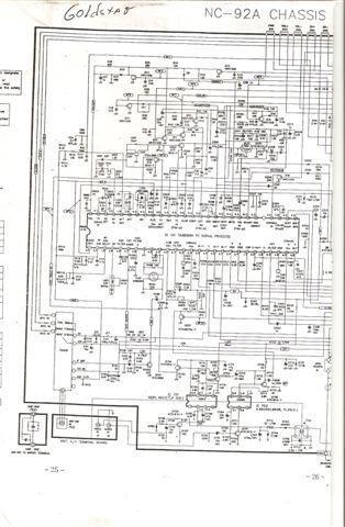 LG GOLDSTAR CMT9722 CHASIS NC92A diagrama2 jpg Diagramas