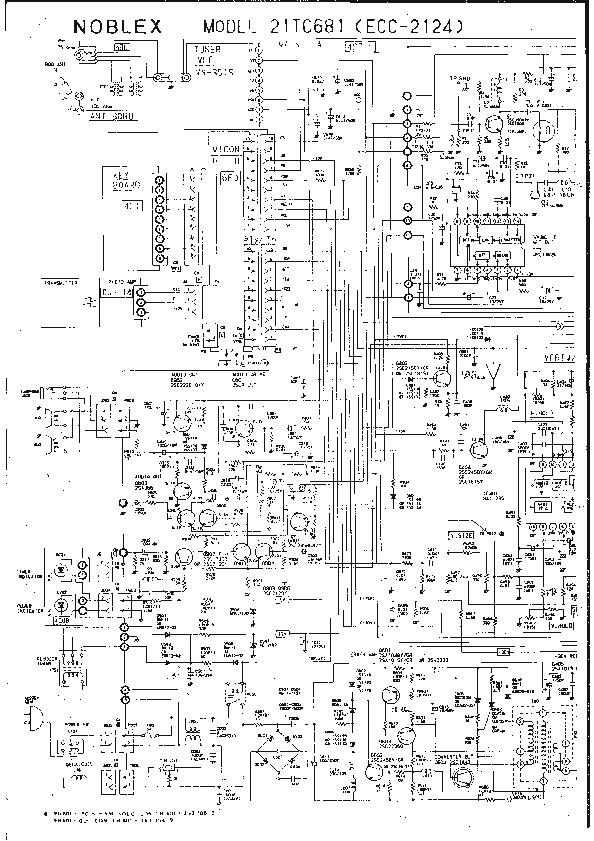 NOBLEX ecc 2124 Noblex 21tc681 ecc2124 pdf Diagramas de