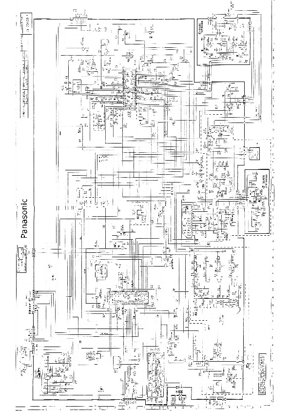 Panasonic CT 2962RB CT 2962RB pdf Diagramas de Televisores