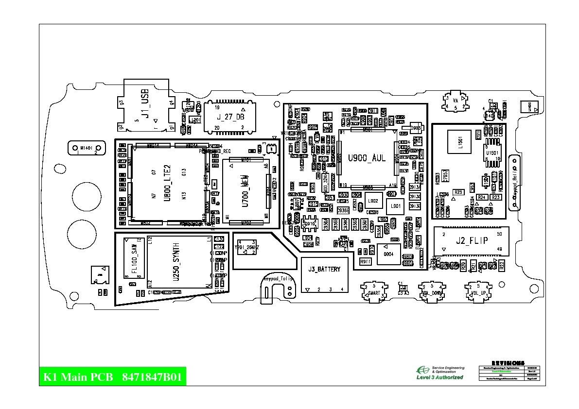 Motorola k1 BL K1 A3 BW L3 V1 pdf Diagramas de Celulares