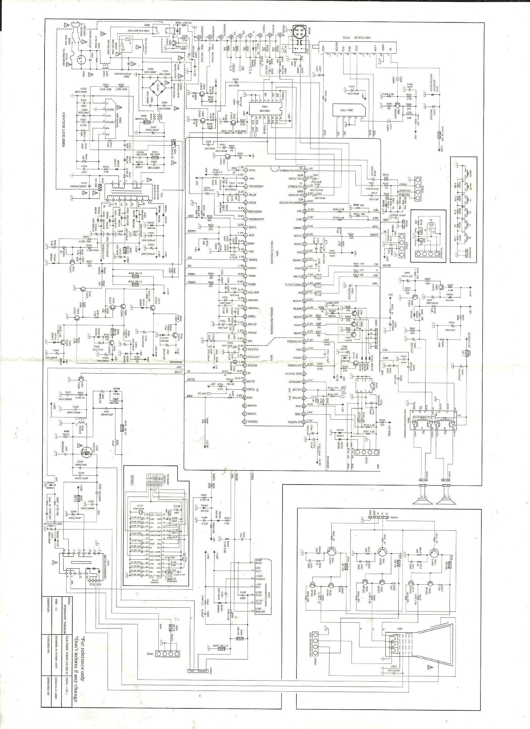 CHINA SIMPLY SYTV2109.bmp Diagramas de Televisores Lcd y