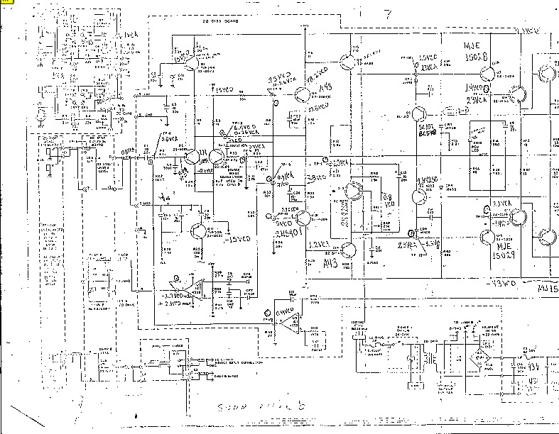 alfa 8 Sunn alpha 8 pdf Diagramas de AUDIO