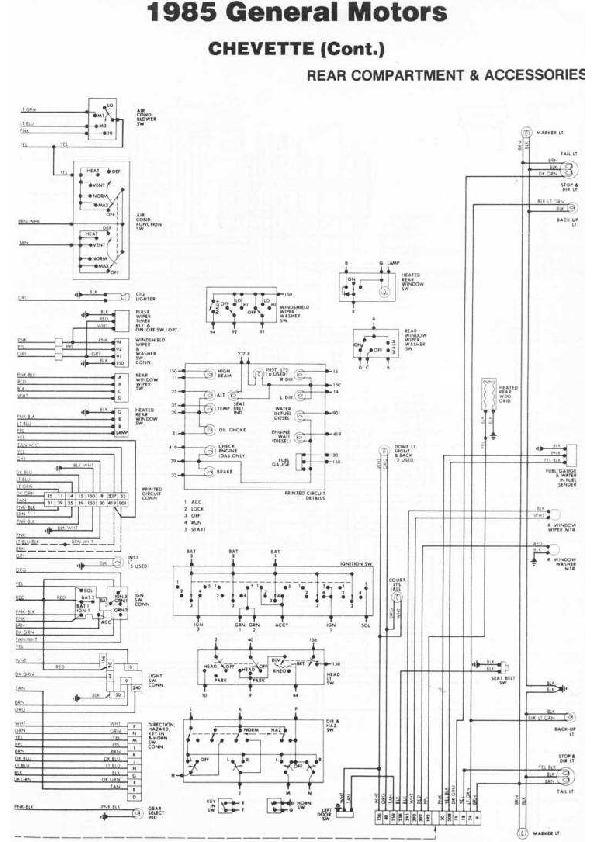 CHEVROLET chevette 85 diag85076 small pdf Diagramas de