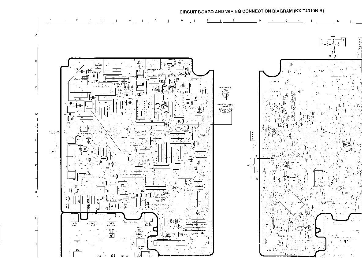 Panasonic KX T4310 508982 09 pdf Diagramas de telefonos
