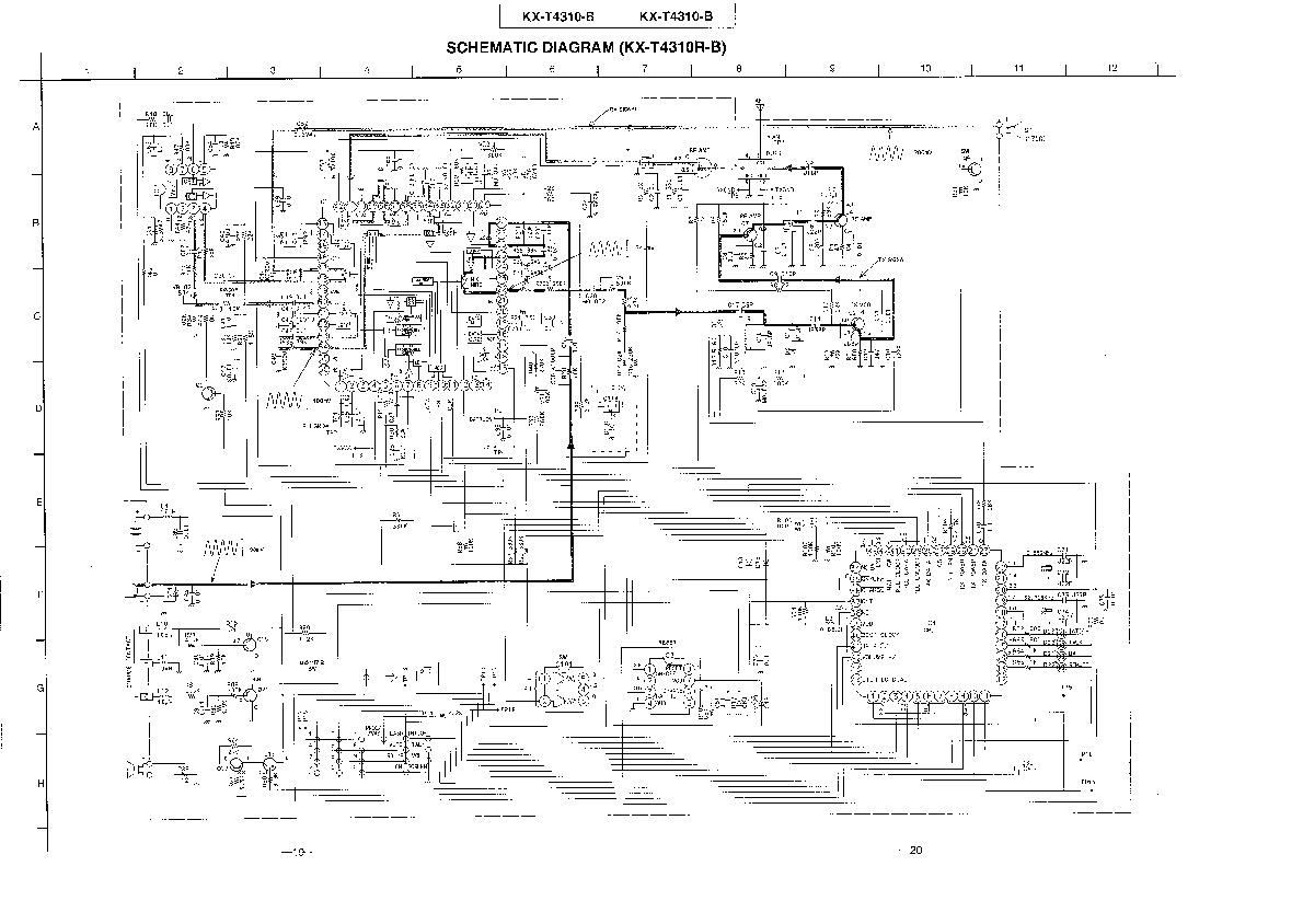 Panasonic KX T4310 508982 11 pdf Diagramas de telefonos