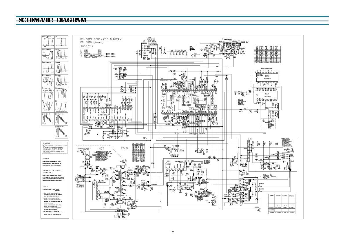 Daewoo Daewoo CN001N pdf Diagramas de Televisores Lcd y
