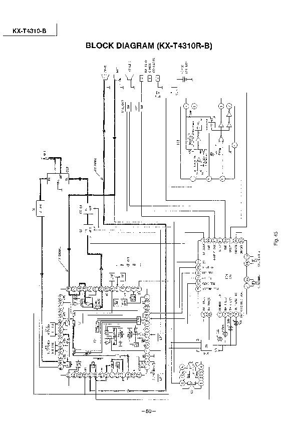 Panasonic KX T4310 508982 21 pdf Diagramas de telefonos