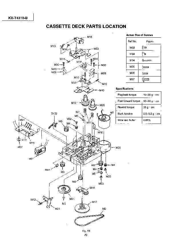 Panasonic KX T4310 508982 32 pdf Diagramas de telefonos