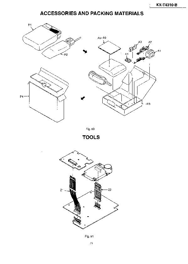 Panasonic KX T4310 508982 33 34 pdf Diagramas de telefonos