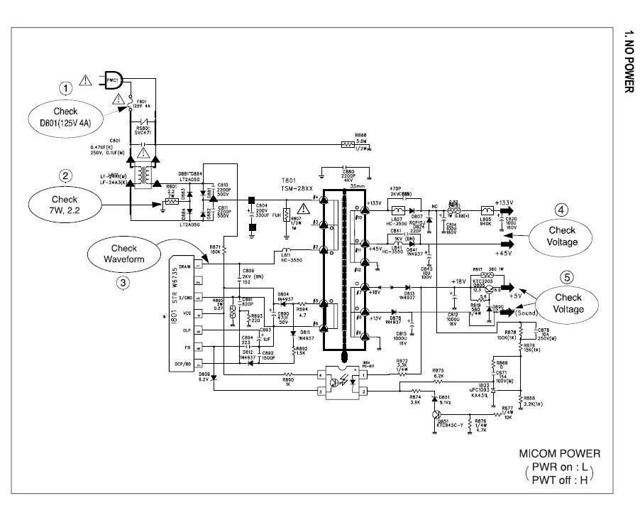 Daewoo dtq 14v5ss jpg Diagramas de Televisores Lcd y
