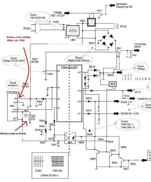 Daewoo j1cx1 jpg Diagramas de Televisores Lcd y Plasma