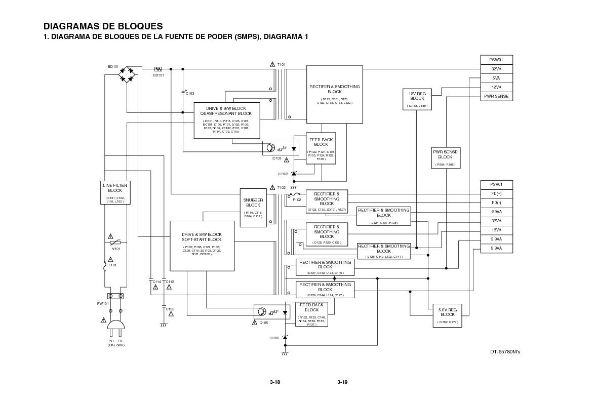 LG LG DT 677combo1 pdf Diagramas de AUDIO