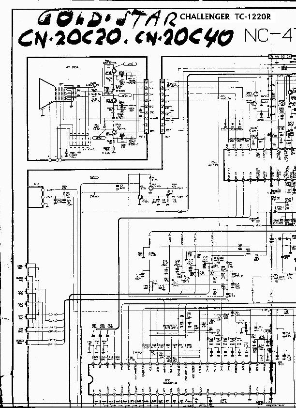 GOLDSTAR 20C20 / 20c40 goldstar 20c20 nc47a pdf Diagramas