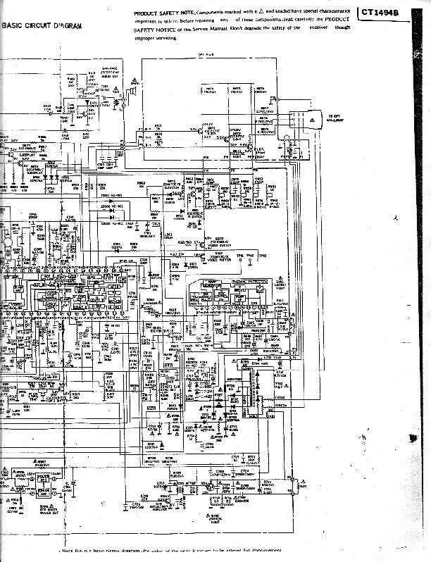 HITACHI Hitachi CT1494B Chasis FH 89XS pdf Diagramas de