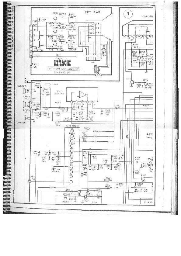 HITACHI HITACHI CPT 1420R[1] pdf Diagramas de Televisores