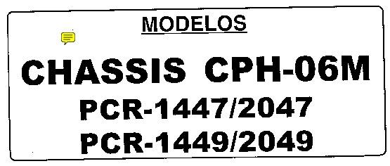 HITACHI Philco PCR 2047 Philco PCR 2047 pdf Diagramas de