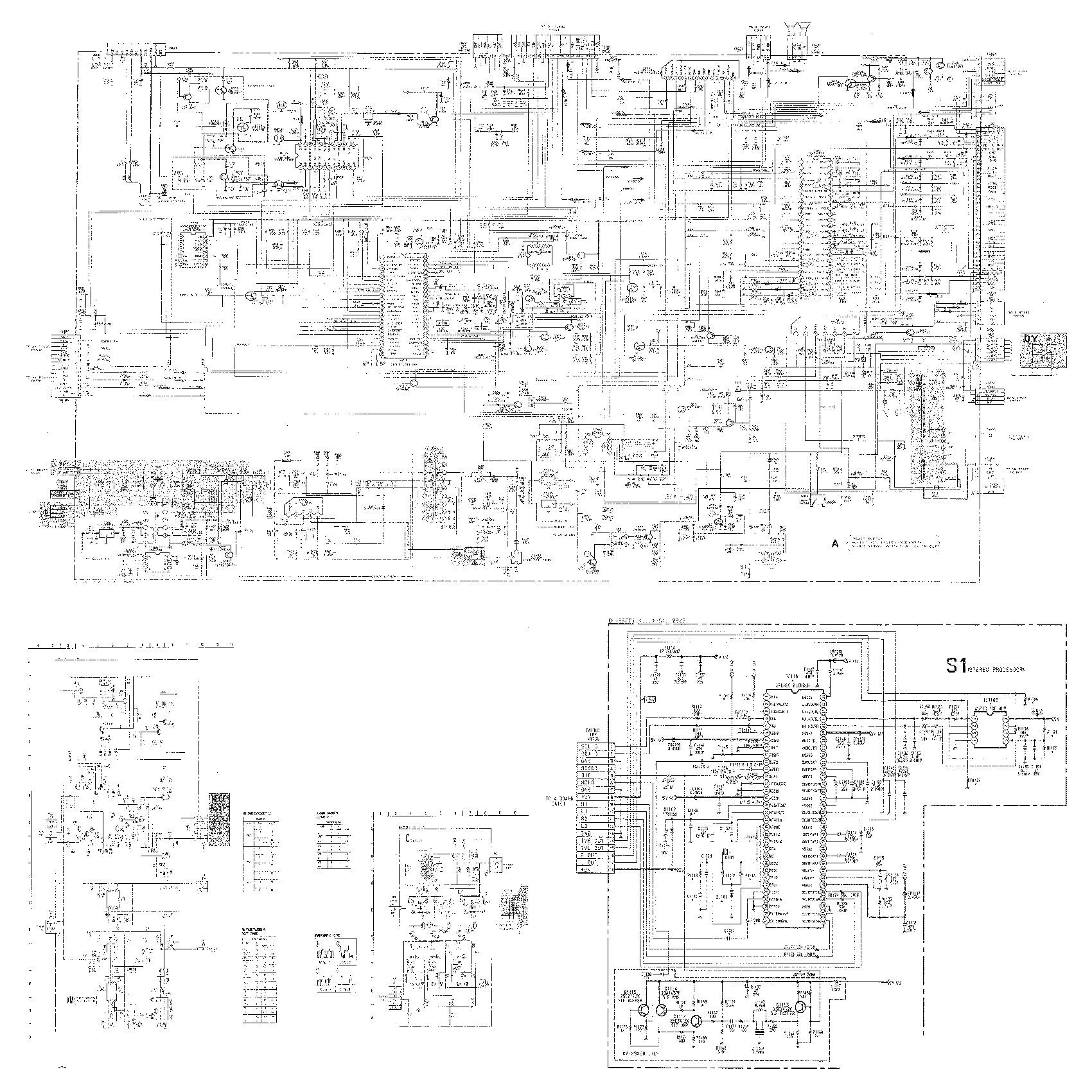 HYPSON kv 29x5r tv sony KV 29X5R[1] pdf Diagramas de