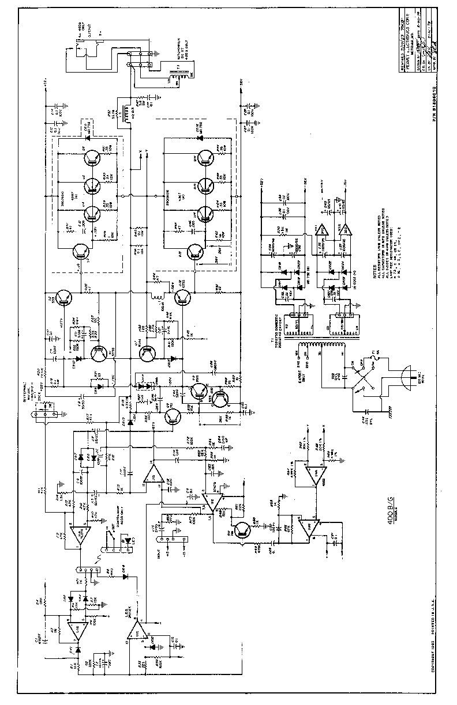 Peavey pv PV 400BG pdf Diagramas de AUDIO