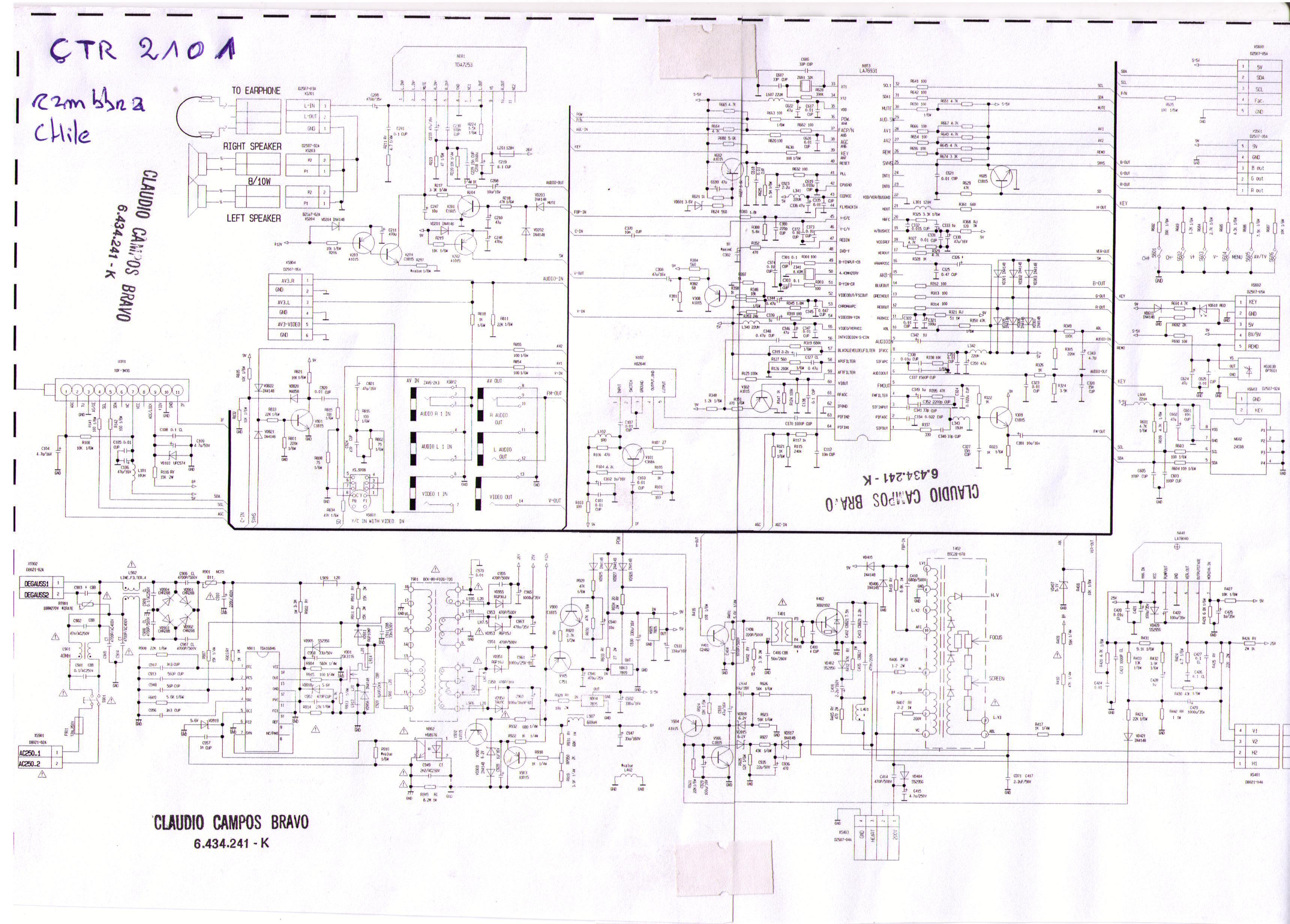 IRT ctr 2110 2101 jpg Diagramas de Televisores Lcd y