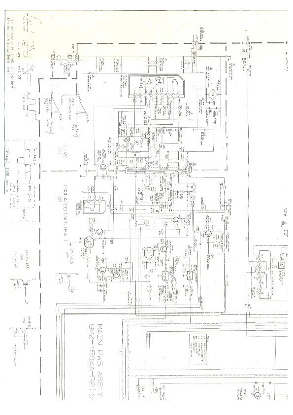 JVC C2186 C 2186SAR pdf Diagramas de Televisores Lcd y