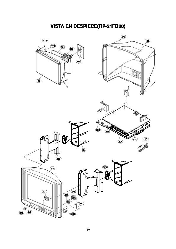 lg 20cb20 pdf Diagramas de Televisores Lcd y Plasma