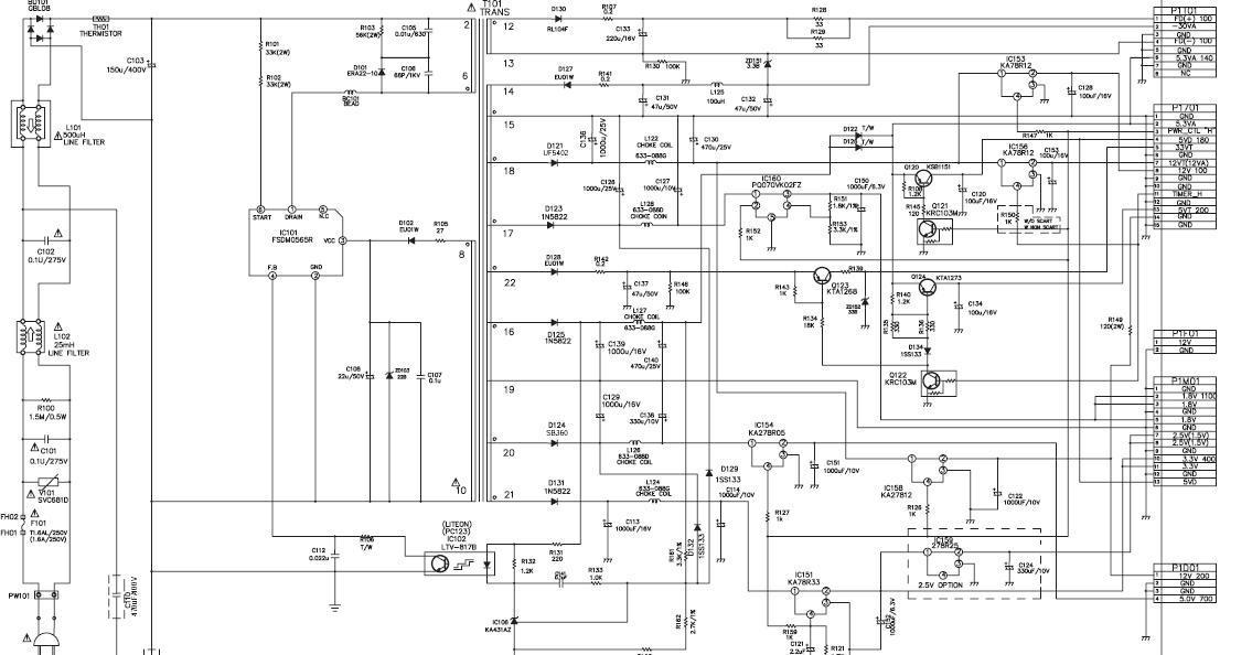 SONY RDR GX210 FUENTE RDR GX210 jpg Diagramas de dvd blue