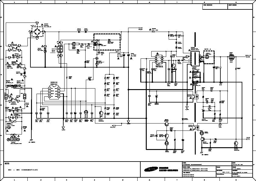 Samsung UN40C5000 SMPS pdf Diagramas de Televisores Lcd y