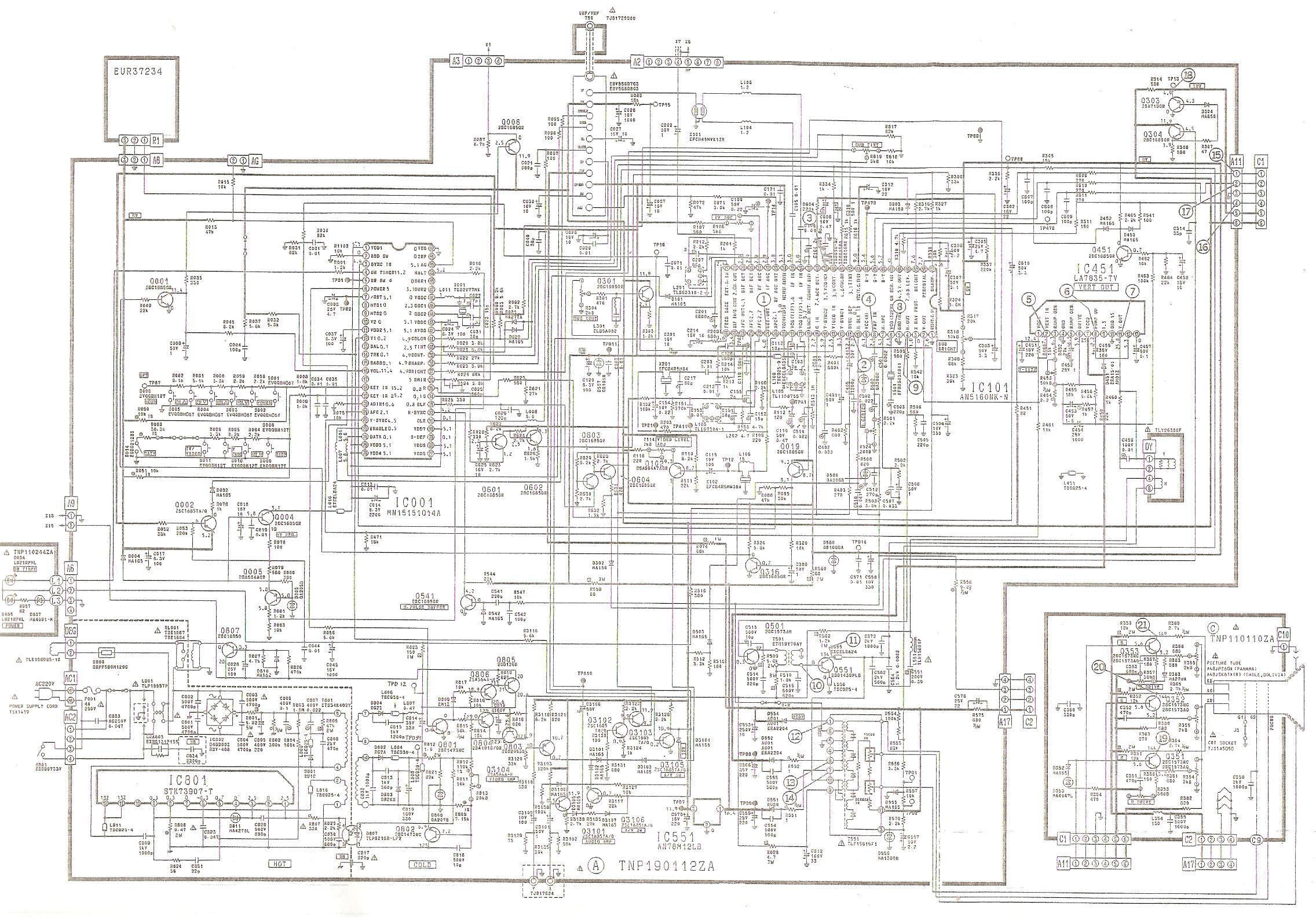 National Panasonic CT T20R 14 002 jpg Diagramas de