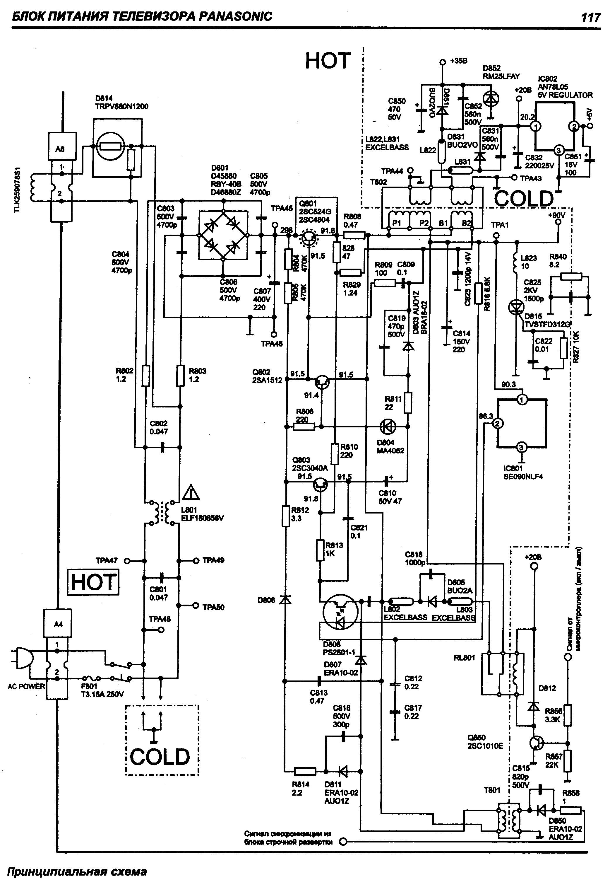 Panasonic ct21 panason4.gif Diagramas de Televisores Lcd y