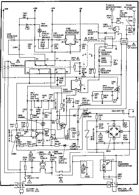 Panasonic CT G2170P Panasonic CT G2170P pdf Diagramas de