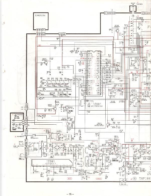 Panasonic PANASONIC CT T20R =CT T14R pdf Diagramas de