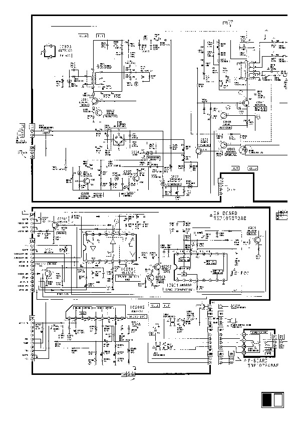 Panasonic TC2171 Panasonic TC 2171EE pdf Diagramas de