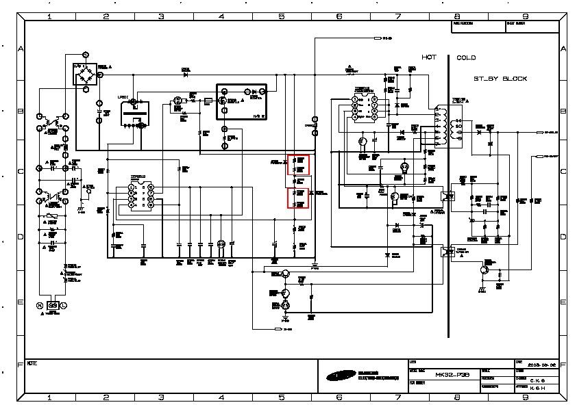 Samsung BN44 00191B LCD SAMSUNG pdf Diagramas de