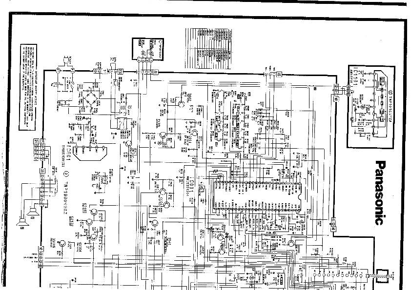 Panasonic PANASONIC CT2161 pdf4 pdf Diagramas de