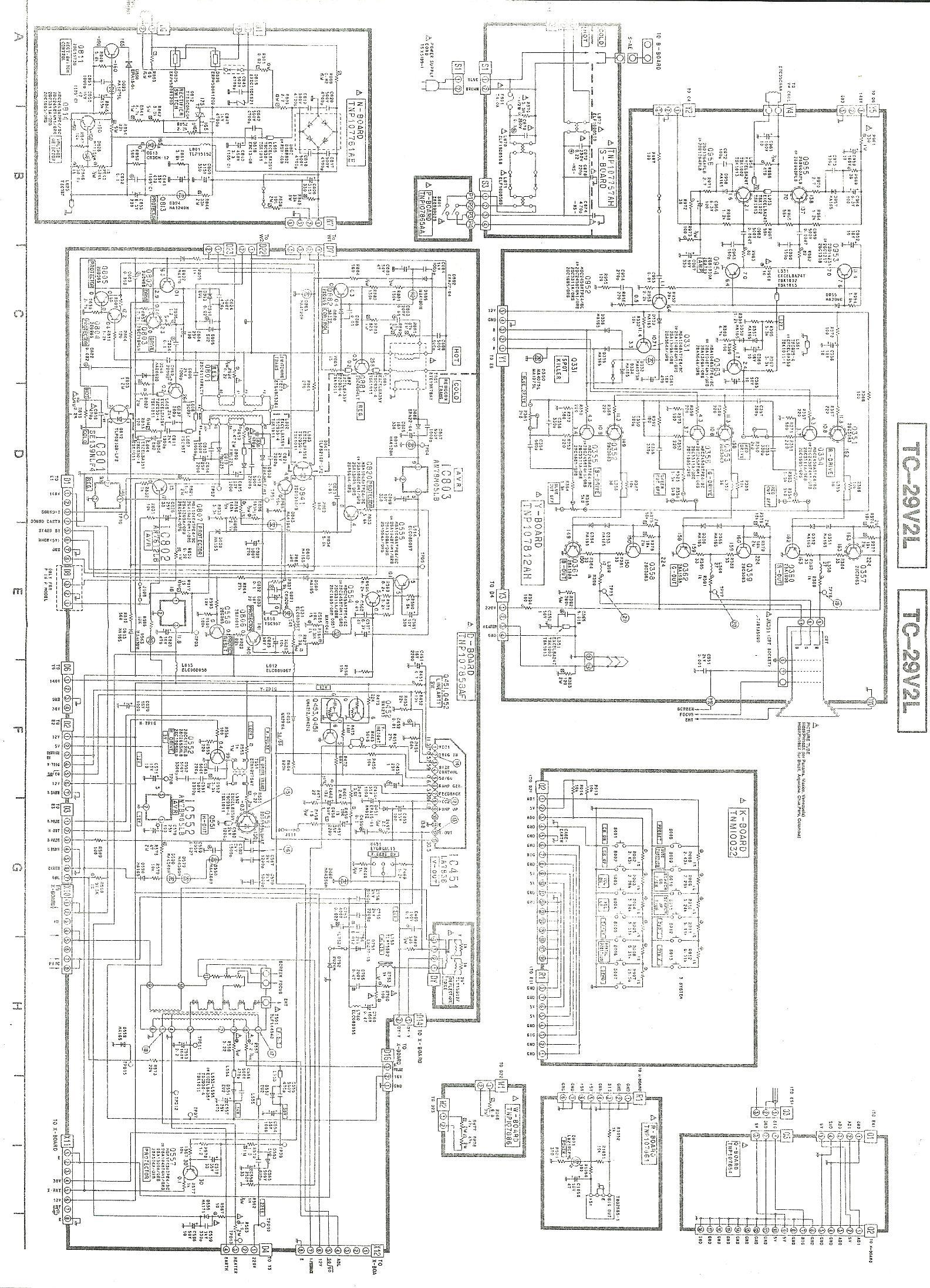 Panasonic tv panasonic TC 29V2L part 1 jpg Diagramas de