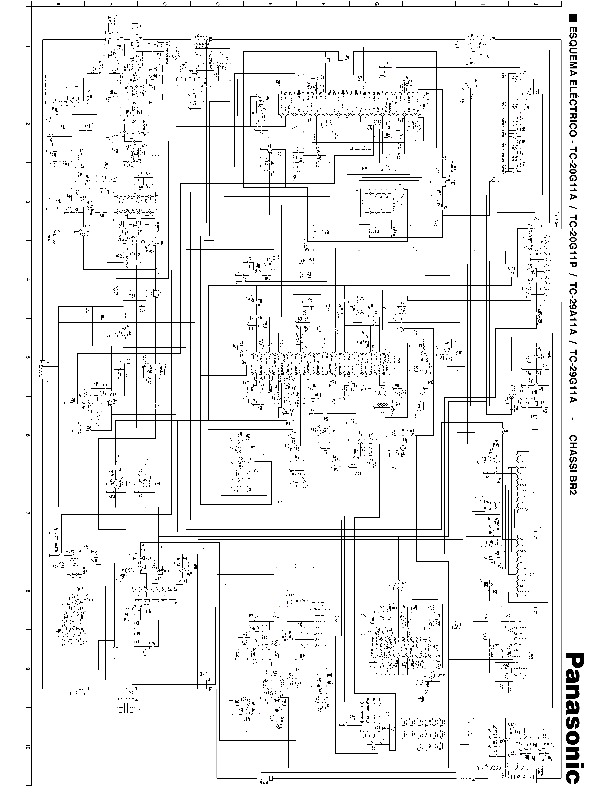 Panasonic 29″ BR2 TVC Panasonic BR2 pdf Diagramas de