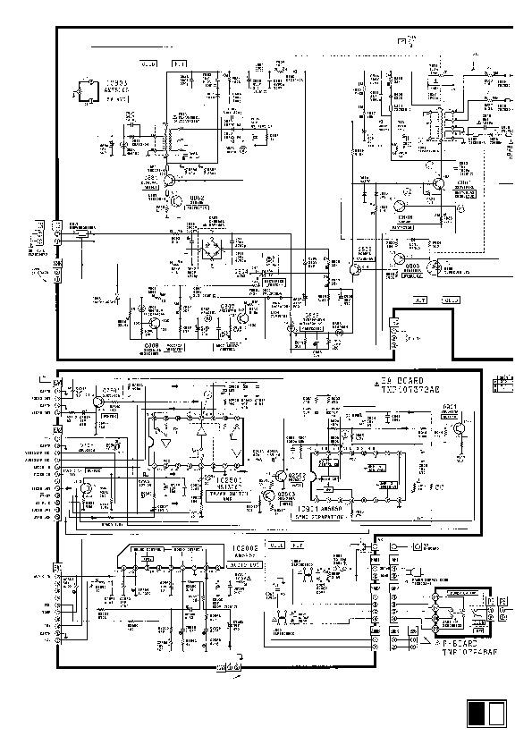 Panasonic TV PANASONIC TC2171EE pdf Diagramas de