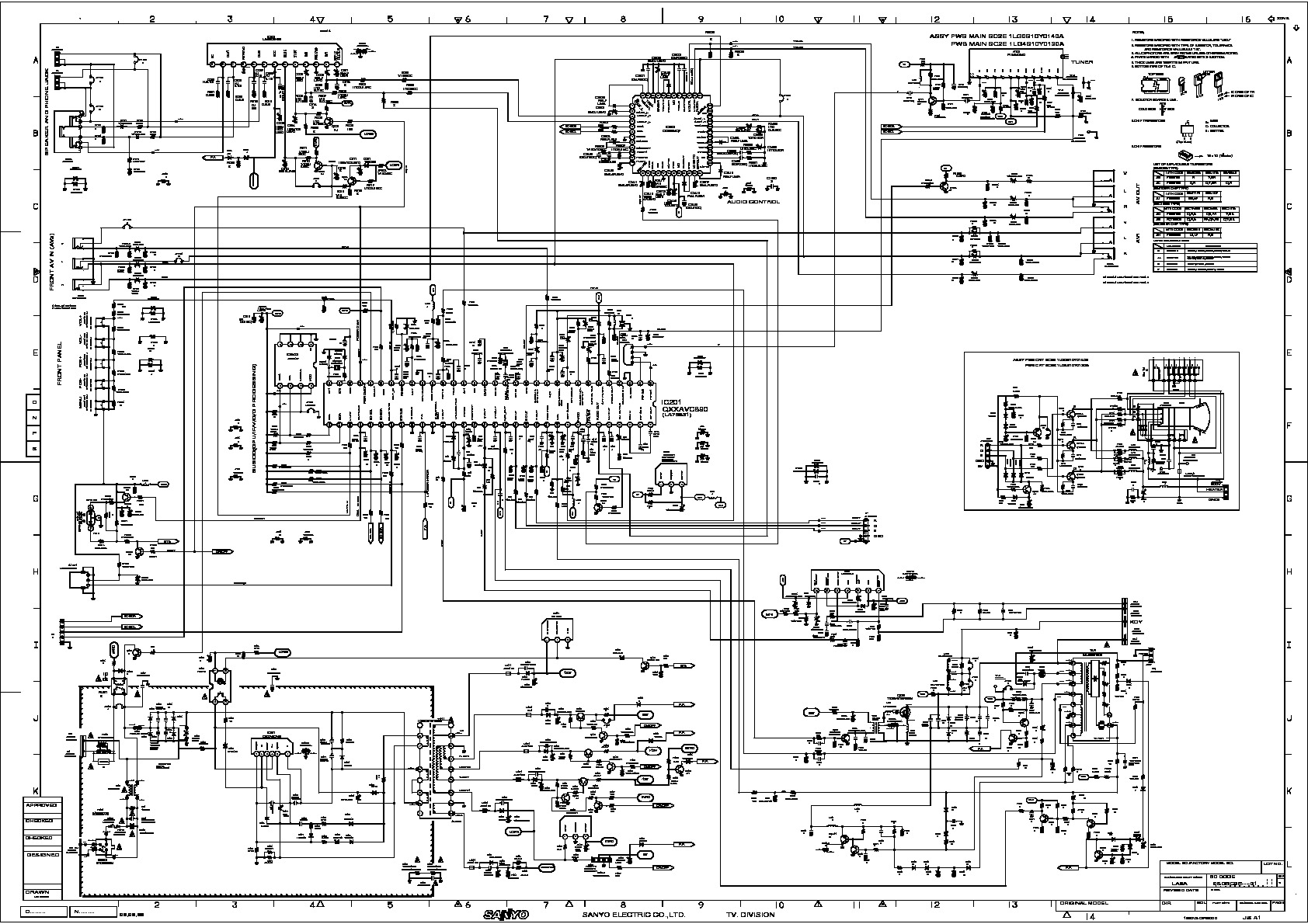 PHILCO Chasis LA6A pdf Diagramas de Televisores Lcd y