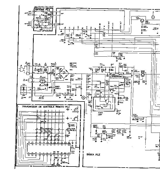 PHILCO CPH3 CPH4 14/15 CPH 03 pdf Diagramas de Televisores