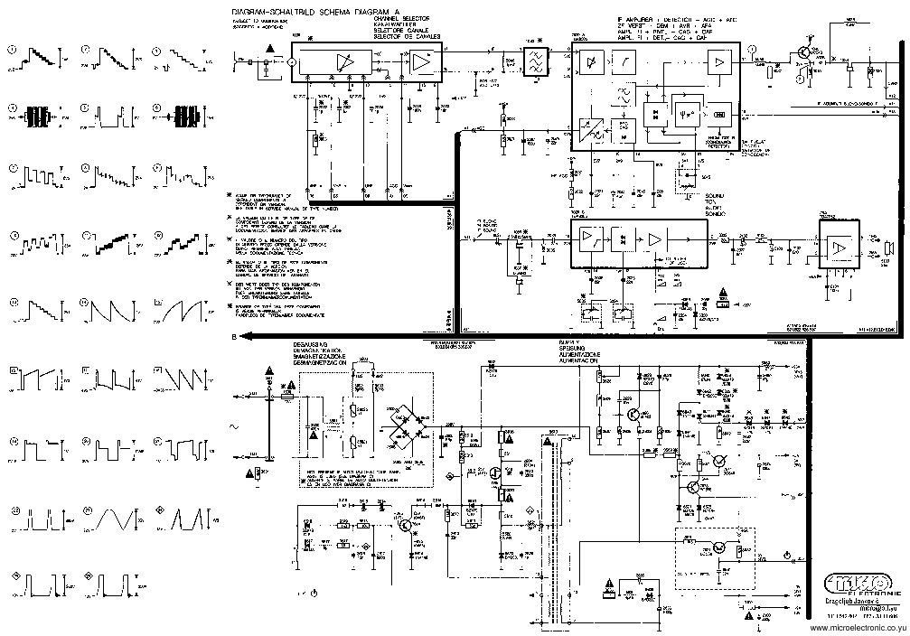 PHILIPS 20 GR105577 gr1ax pdf Diagramas de Televisores Lcd