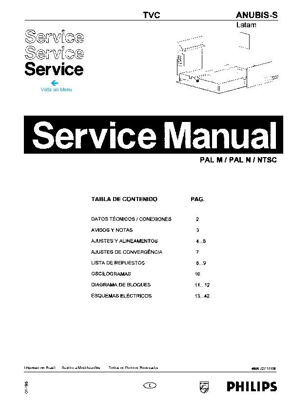 PHILIPS ANUBIS+S+LATAM pdf Diagramas de Televisores Lcd y