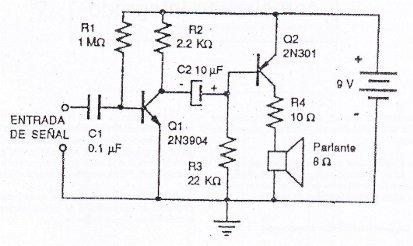 Circuitos amplificador audio01 jpg Diagramas de circuito