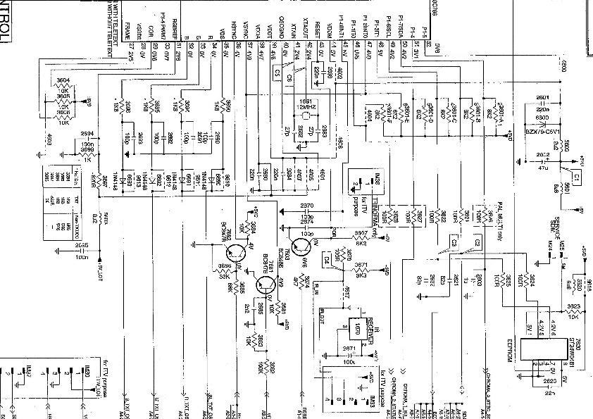 PHILIPS PHILIPS 25 Y 29 PT4622 pdf8 pdf Diagramas de
